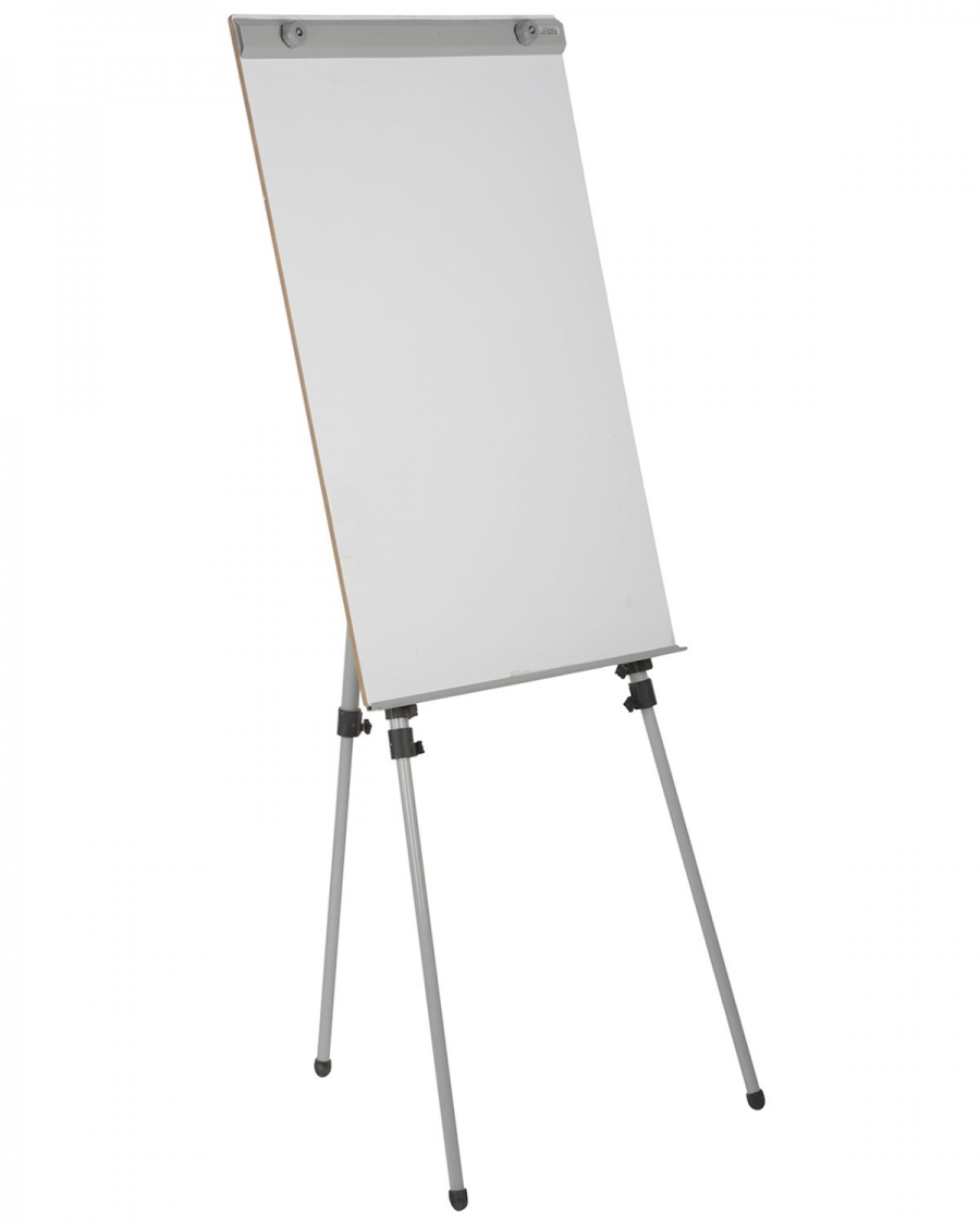Pragati systems flip chart stand with board fcs 01 70100